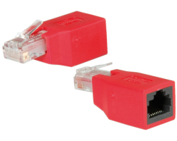 Roline UTP Cat.5e crossover adapter RJ-45