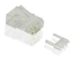 Roline VALUE UTP Cat.6 konektor RJ-45 (pakiranje 10 kom.)