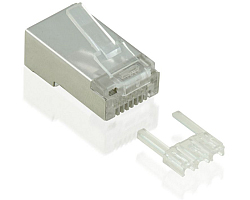 Roline VALUE STP Cat.6 konektor RJ-45 (pakiranje 10 kom.)